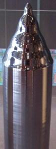 Une barre de silicium monocristallin